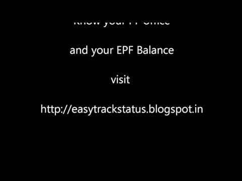 Karnataka EPF online and locate Banglore Karnataka PF offices Map