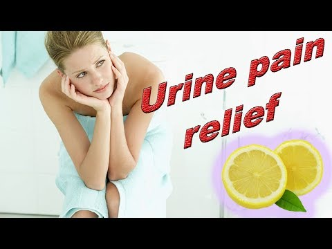 How To Relieve Painful Burning Urination  - Best Treatment For Dysuria At Home