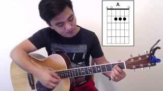Amazing Grace (My Chains Are Gone) Tutorial VERY EASY - Zeno