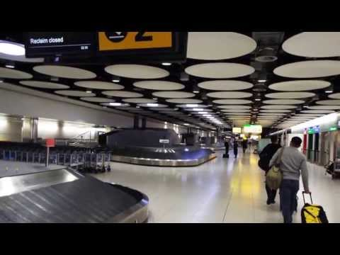 Deplaning at Heathrow  Underground trip from LHR Terminal 4 to Knightsbridge Piccadilly Line