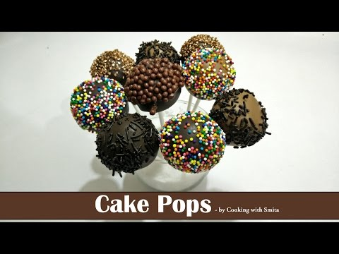 How to make Cake Pops - Recipe by Cooking with Smita