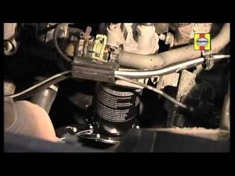 How to do a car oil and filter change
