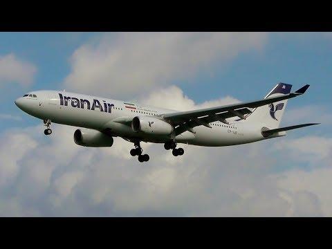 Iran Air A330-200 Superb Morning Landing at Hamburg Airport!