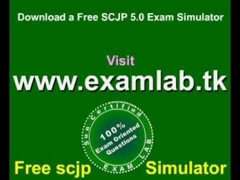 Free download SCJP 5.0 Exam Simulator