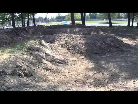 Bexley Park Pump Track - Progress 9/1/15