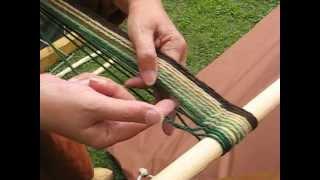 Download Viking handcraft: Sprang, Part 2 Video