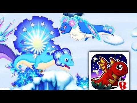How to Get Snowflake Dragon #3 100% Real! DragonVale! [Christmas Dragon]