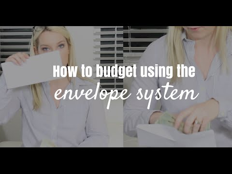 How to budget using the envelope system