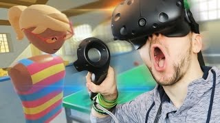 I LOVE SPORTS BALL! | Rec Room (HTC Vive Virtual Reality)