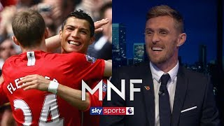 Darren Fletcher reveals what it was like playing with Cristiano Ronaldo   MNF Q&A