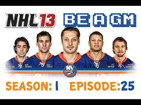 NHL 13 Be a GM - New York Islanders S:1 EP:25 [PLAYOFFS ROUND 1 GAME 5 & 6]
