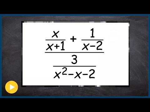 Overview of Complex Fractions and Solving Rational Equations