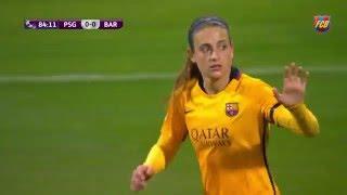 [HIGHLIGHTS] FUTBOL FEM (Uefa Women's Champions): PSG-FC Barcelona (1-0)
