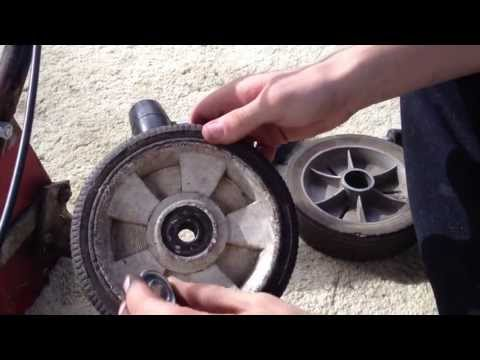 PushMowerRepair.com - Wheel Bearing Replacement