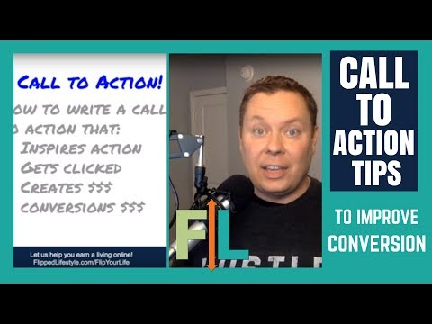 Call to Action Tips: Improve your CTAs & Improve Your Conversions!