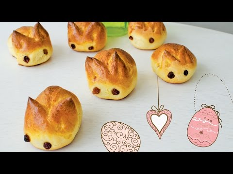 Sweet Easter Bunny Bread