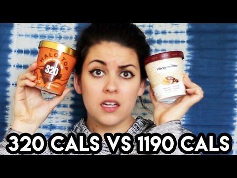 320 Calorie Ice Cream Vs. 1190 Calorie Ice Cream
