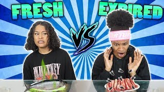 Download FRESH VS EXPIRED FOOD CHALLENGE 🤢 Video