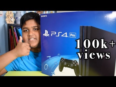 ps4 pro unboxing tamil ( dosanth tamil gamer )