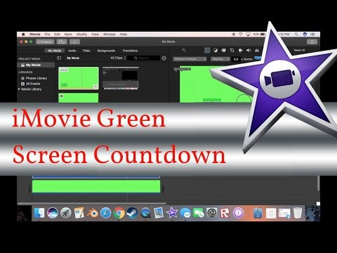 iMovie | HOW TO ADD A COUNTDOWN TIMER (Using Green Screen)