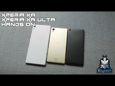 Sony Xperia XA and Xperia XA Ultra Hands On First Look - iGyaan