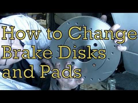 How to change brake disks and pads (on a Ford Fiesta Zetec S)