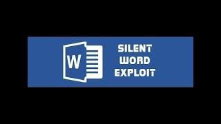 Silent Doc Exploit 2018- DOC Exploit - Silent Macro – Non CVE- secret…