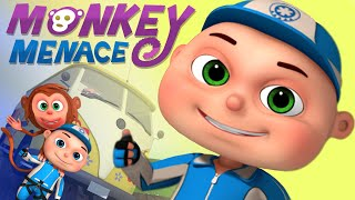 Monkey Trouble (Single Episode)   Zool Babies Series   Videogyan Kids Shows   Cartoon Animation