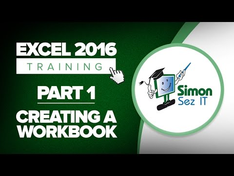 Excel 2016 for Beginners Part 1: How to Create a Spreadsheet With Excel 2016