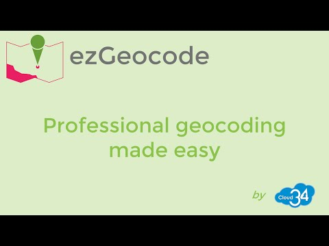 Geocode addresses in bulk like a pro with ezGeocode