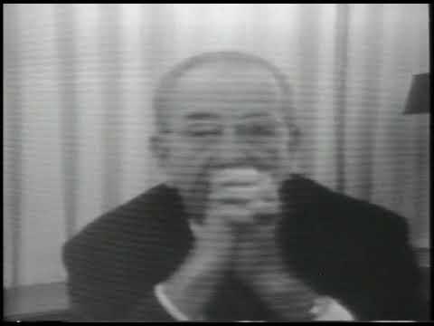 Rare Footage of President Johnson Rehearsing March 31, 1968 Speech