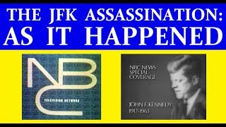 Download NBC-TV COVERAGE OF JFK'S ASSASSINATION ON NOVEMBER 22, 1963 (6+ HOURS) Video