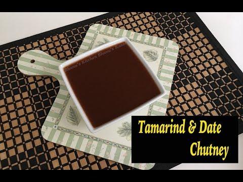 Tamarind & Date Chutney- Khajur Imli Ki Sweet & Sour Chutney