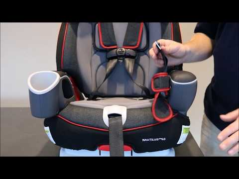 Graco® Nautilus™ Crotch Buckle Removal