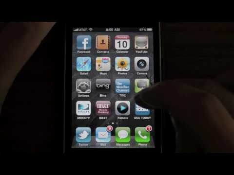 iOS4 running on iPhone 3GS