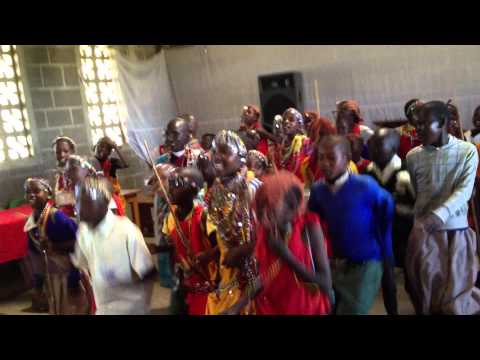 Masai Project Singing - Kenya Compassion Trip 2013