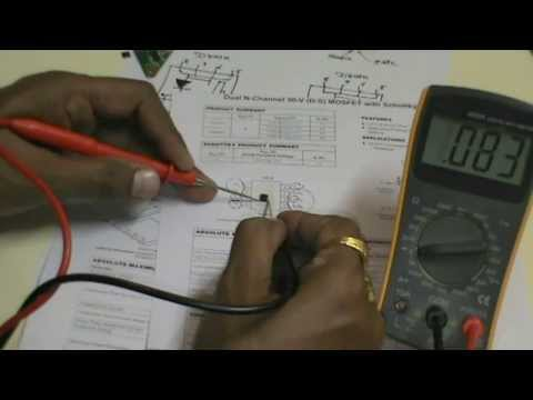 How to check MOSFET with multimeter  (हिन्दी)