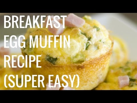 Easy and Healthy Egg Muffins Breakfast Recipe - Christina Carlyle