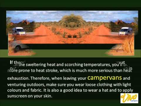 Keeping Cool On A Hot Weather Camping Trip | Campervans