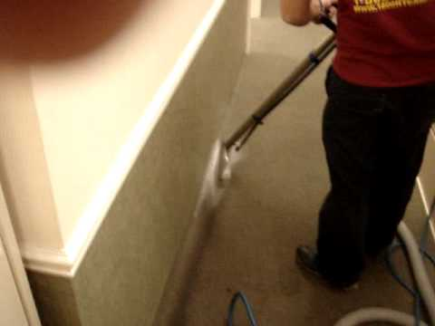 carpet cleaning tar removal