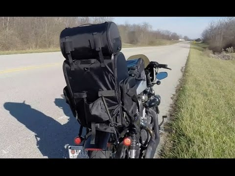 Viking Bags Sissy Bar Bag Review While Riding