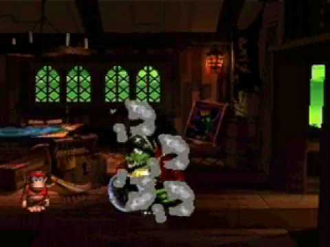 Donkey Kong Country 2 K. Rool Duel In Rattle Battle and Pirate Panic