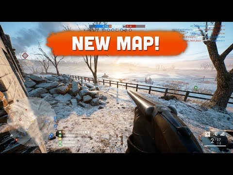 NEW MAP! - Battlefield 1 | Road to Max Rank #104 (In the Name of the Tsar DLC)