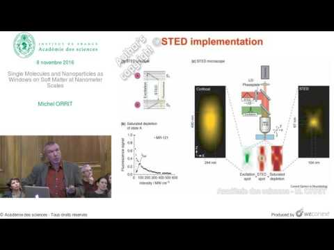 [Conférence] M. ORRIT - Single Molecules and Nanoparticles as Windows on Soft Matter