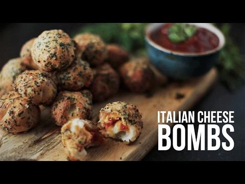 Italian cheese bombs  [BA Recipes]