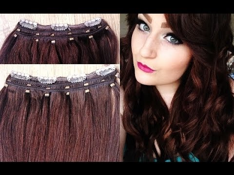 Transforming Old Extensions using a LUSH Hair Extensions Weft