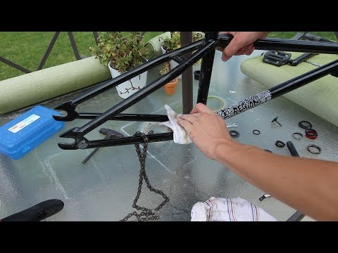How To DEEP CLEAN A BMX Bike!