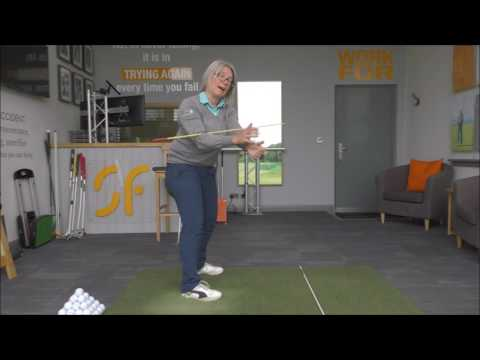 Golf swing arm rotation, part 2. The role of the arms in getting to the top of the back swing