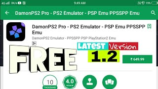 😱[OPEN GL_ES 3 0] Damon PS2 Emulator Version 1 2 1 PRO FREE