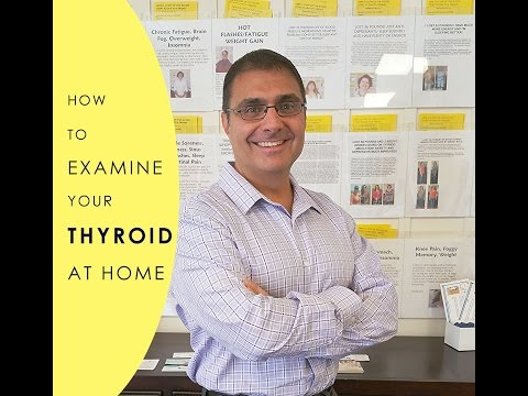 How To Examine Your Thyroid At Home